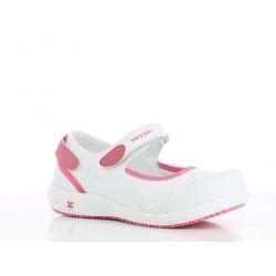 Chaussures professionnelles fermées OXYPAS femme NELIE SRC ESD ultralégères