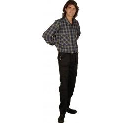 Pantalon multipoches 90-19 Le Laboureur 67% polyester 33% coton