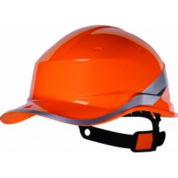 Casque de chantier DIAMOND 5 forme base-ball Delta plus, anti-choc et isolant