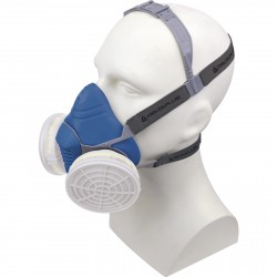 Demi masque M6200 JUPITER, en thermoplastique Delta plus
