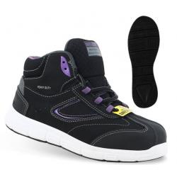 Chaussures de sécurité montantes BEYONCE S3 SRC SAFETY JOGGER non-métallique