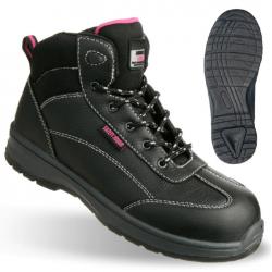 Chaussures de sécurité montantes BESTLADY S3 SRC SAFETY JOGGER métallique
