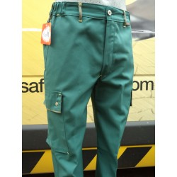 Pantalon GIL, fabrication française LE LABOUREUR, 54% polyester 43% coton