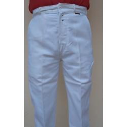 Pantalon 100 % coton Le Laboureur blanc