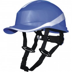 Casque de chantier DIAMOND 5 UP forme base-ball Delta plus, anti-choc et isolant
