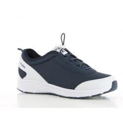 Chaussures professionnelles basket JAMES SRA homme OXYPAS pieds sensibles marine