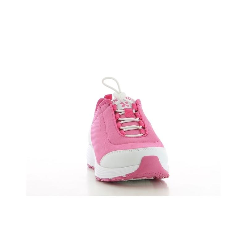 15e65c1f9eca47 ... Chaussures professionnelles basket MAUD SRA femme OXYPAS pieds  sensibles ...