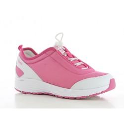 Chaussures professionnelles basket MAUD SRA femme OXYPAS pieds sensibles